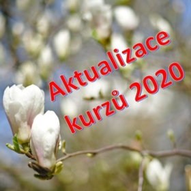 Nabídka kurzů – aktualizace – květen 2020